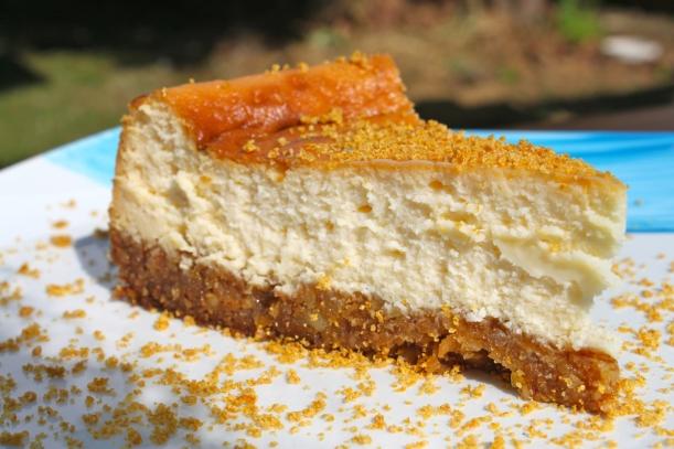 Lemon cheesecake with mascarpone 2